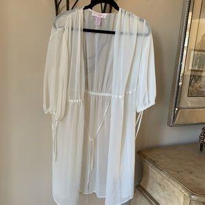 Pretty slip robe